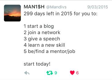 Manish twitter